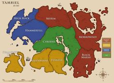 Aldmeri, Daggerfall & Ebonheart Are The Three ESO Factions. Each Of The Elder Scrolls Online Factions Is Comprised of 3 Races, With Their Own Special Skills Elder Scrolls Lore, Elder Scrolls Games, Elder Scrolls Online, Fantasy World Map, Alternate History, The Covenant, Skyrim, Geek Stuff, Oblivion