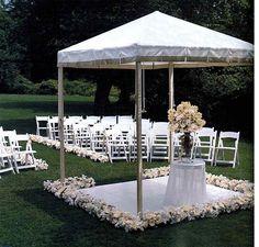 Outdoor ceremony http://blancrievimenti.it