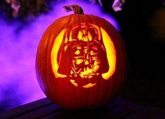 Darth Vader Star Wars Pumpkin Pattern