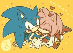 Kisses Galore! AW come on sonic.....u know you like it ;)