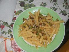 penne con zucchine  http://cioccolatoamaro-paola.blogspot.it/