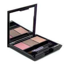 Shiseido Luminizing Satin Eye Color Trio - # RD711 Pink Sand