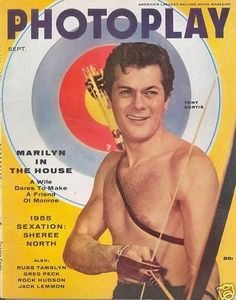 Tony Curtis - Photoplay Magazine [United States] (September 1955)