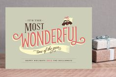 Love this holiday card design by Chocomocacino for Minted