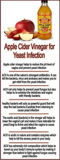 Apple Cider Vinegar for Yeast Infection by CecyMar