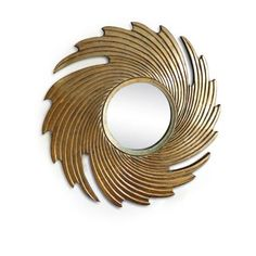 Vogue Bohemia Mirror - Golden,Decorative Mirrors-Decorative-Mirrors
