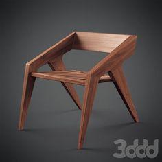 модели: Стулья - Hank by Jory Brigham Furniture Projects, Diy Furniture, Furniture Design, Wood Chair Design, Wood Design, Dinning Chairs, Cool Chairs, Furniture Inspiration, Modern Chairs