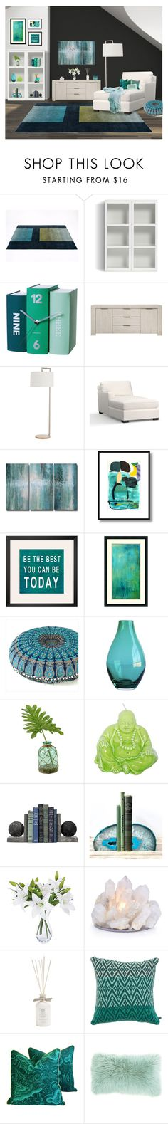"""""""Untitled #1163"""" by rachelbarkho ❤ liked on Polyvore featuring interior, interiors, interior design, home, home decor, interior decorating, Umbra, Karlsson, Nico and Arteriors"""