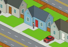 How to Create an Isometric Pixel Art Neighborhood Block in Adobe Photoshop