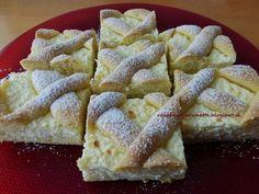 Raspberrybrunette: Jednoduchý tvarohový mrežovník Tento jednoduchý, j...