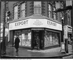 could it be the SW corner of College and Dufferin around 1960?