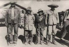 Mexican Revolution Rebels #war #history uspatriotservices.com uspatriotserviceskansascity.com uspatriotservicesminnesota.com uspatriotservicesphoenix.com