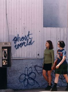Ghost World - let's watch this again b/c i haven't seen it in ages but i remember thinking it was really good, plus i like scarlett johansson (sp?) and thora birch, both of them, a lot.