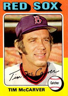 MLB All Star Catcher and Hall of Fame Broadcaster Hockey Cards, Baseball Cards, Boston Red Sox Players, Old Cards, Trading Cards, All Star, Mlb, Football, Memories