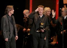The Eagles Pay tribute to Glenn Frey with Jackson Browne at the 2016 Grammys. It was so obvious how difficult it was for them to do this, but they carried on to honor Glenn's recent passing. Sad night for the band, sad night for Eagle fans.