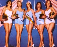 TOP FIVE, MISS UNIVERSE 1957