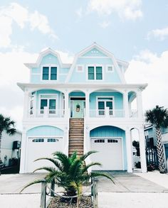 Beach house exterior colors 1 2 a 1 4 a 3 4 dream beach beach traditional . Beach Cottage Style, Beach House Decor, Dream Beach Houses, The Design Files, Deco Design, House Goals, Beach Cottages, Tiny Cottages, Humble Abode