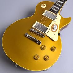 GibsonCustomShopTrueHistoric1957LesPaulVintageAntiqueGoldS/N:76209レスポールゴールドトップ【ギブソンカスタムショップ】【新品特価】 Gibson Gold Top, Les Paul Gold Top, Gibson Les Paul, Band, History, Music, Model, Guitars, Musica