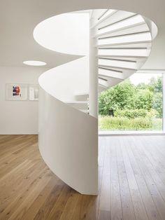 white stairs #decor #architecture