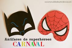 Antifaces para carnaval gratis / Free carnival masks | Handbox Craft Lovers | Comunidad DIY, Tutoriales DIY, Kits DIY