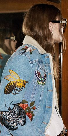 Discover the Embroidered Denim Collection for Men & Women. Pre-Fall 2016. Enjoy Free Shipping on Gucci.com.