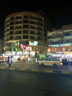 The City of Hurghada. Sakkala, Sheraton street, El Mamsha, El Dahar. Hurghada Egypt, Times Square, Maine, Street View, City, Travel, Viajes, Cities, Destinations
