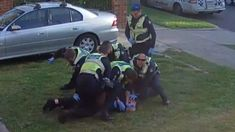 Four officers suspended by Victoria Police over alleged excessive force