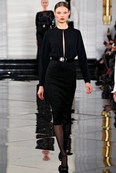 Art Deco with Asian Influence... LOVE. Ralph Lauren Fall 2011 Ready-to-Wear Collection Photos - Vogue
