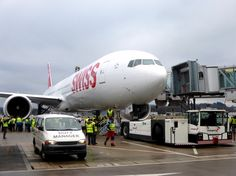 SWISS B777-300ER delivery