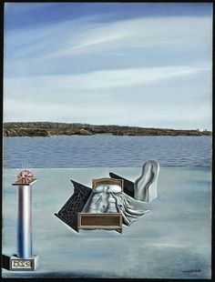Salvador Dali - Surrealist Composition with Invisible Figures, 1936 Magritte, L'art Salvador Dali, Figueras, Madona, Tomie Ohtake, Dali Paintings, Surrealism Painting, Spanish Artists, Composition