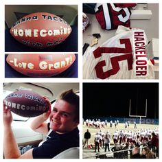 She said yes to his Homecoming proposal!