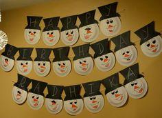 10+ ideas for Snowman Theme Birthday Party  