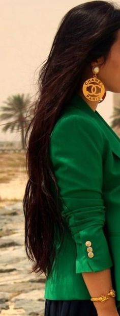 This green blazer...Want!