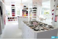 Lisa Van Der Pump's closet.