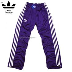 Belfast Adidas Originals Mens Training Pants Purple White Satisfy The Shop Your Way