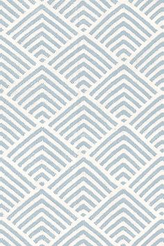 Bunny Williams for Dash and Albert Cleo Blue Graphic Indoor/Outdoor Rug