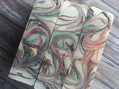 'Evoke' handmade soap Black tea and Ylang Ylang with mica swirls Urban Village, Swirls, Bath And Body, Fragrance, Soap, Tattoos, Handmade, Black, Tatuajes