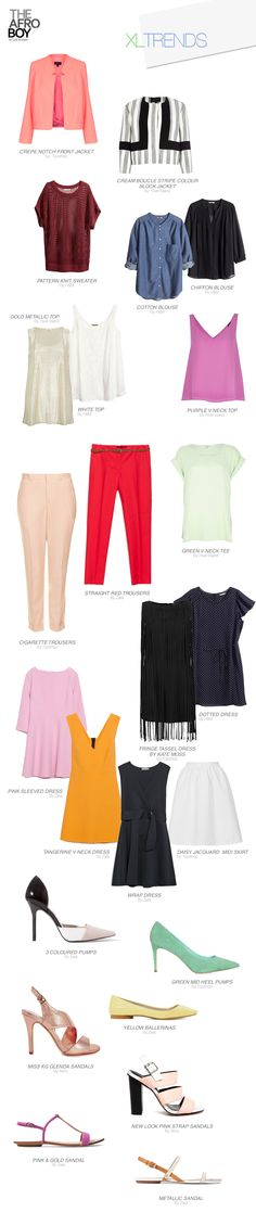 JUST FOR GIRLS: XL TRENDS
