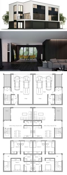 Container House - Container House - Duplex House Plan CH362D - Who Else Wants Simple Step-By-Step Plans To Design And Build A Container Home From Scratch? - Who Else Wants Simple Step-By-Step Plans To Design And Build A Container Home From Scratch?