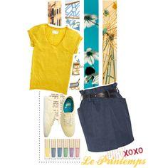 """""""la vie au printemps"""" by i-love-shoes93 on Polyvore"""