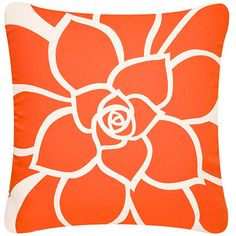 Bloom Eco Art Throw Pillow Cover