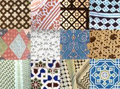 Patterns of Oman