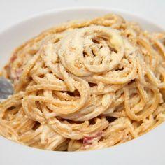 Carbonara spagetti recept