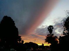 Sunset in Marina del Rey/.ocaso en Marina del Rey