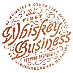 Whiskey Business Logo Typography