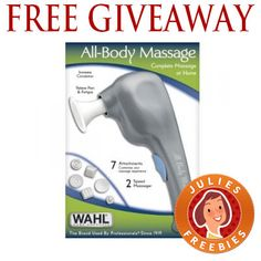 free-wahl-massager-giveaway