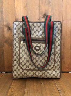 64ae713b2198 Vintage Purses/Designer Purses Leather & Large G Logo Print Coated ...