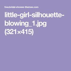 little-girl-silhouette-blowing_1.jpg (321×415)