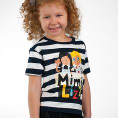 Tričko s hrdinkami obľúbeného a oceňovaného detského seriálu Mimi