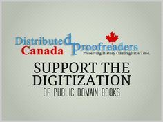 Download Free Ebooks, Legally » Support the Digitization of Public Domain Books